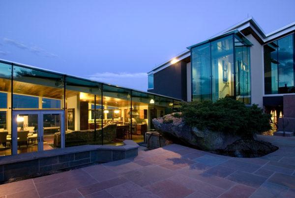 custom glass house in boulder colorado